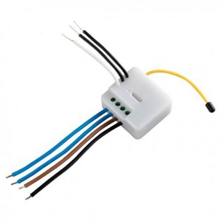 Włącznik elektroniczny podwójny z funkcją 0 crossing dla minimalizacji zakłóceń 2x1kW